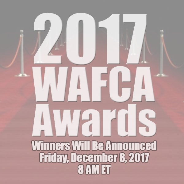 2017 WAFCA Awards - Winners will be announced on Friday, December 8, 2016 at 8am ET.
